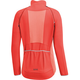 GORE WEAR C3 Phantom Windstopper Zip-Off Jacket Women lumi orange/coral glow